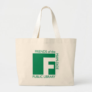 Friends of the Miami-Dade Public Library Large Tote Bag