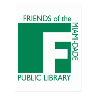 Friends of the Miami-Dade Public Library Postcards