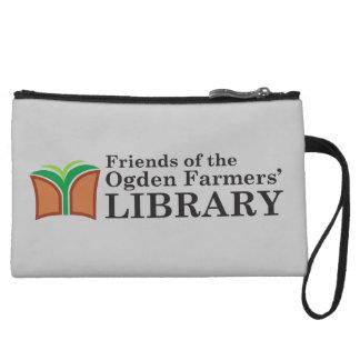 Friends of the Ogden Library Wristlet