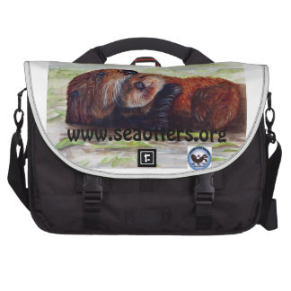 Friends of the Sea Otter Laptop Bag