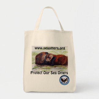 Friends of the Sea Otter Organic Cotton Tote