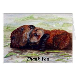 Friends of the Sea Otter Thank You Card