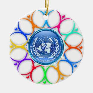 Friends of the U.N. Ornament