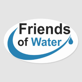 Friends of Water Oval Sticker