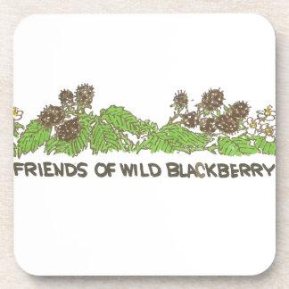 Friends of  Wild Blackberries Beverage Coaster
