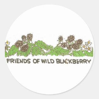 Friends of Wild Blackberry! Classic Round Sticker