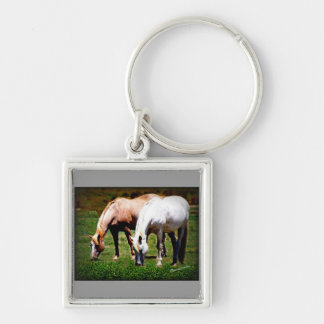 """""""Friends"""" Pair of Horses Keychain"""