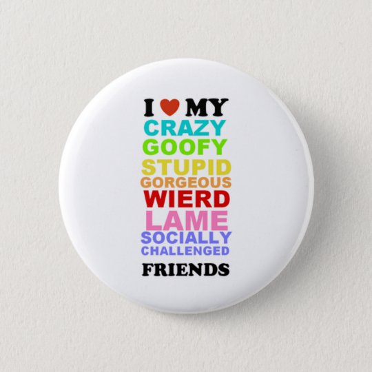 friends pinback button