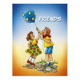 Friends - Postcard