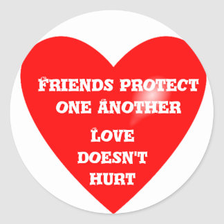 Friends Protection_ Sticker