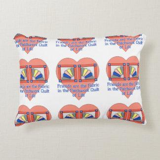 Friends - Quilt Pattern Decorative Pillow