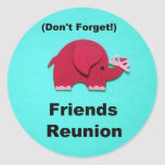 Friends Reunion - Don't forget! Sticker