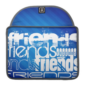 Friends; Royal Blue Stripes Sleeve For MacBooks