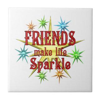 Friends Sparkle Ceramic Tiles