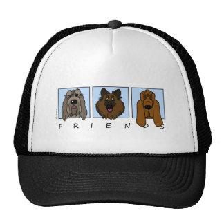 Friends: Spinone Italiano, Tervueren, Bloodhound Trucker Hat