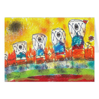 Friends Stationery Note Card