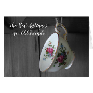 Friends Teacup Thinking Of You Card