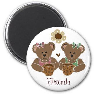Friends Teddy Bear Magnet