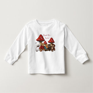 Friends: Teddy Bears, Toadstools: Colorful Art Toddler T-shirt