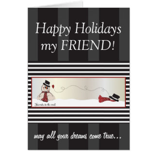 Friends to the End Christmas Card