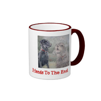 """Friends To The End"" Ringer Coffee Mug"