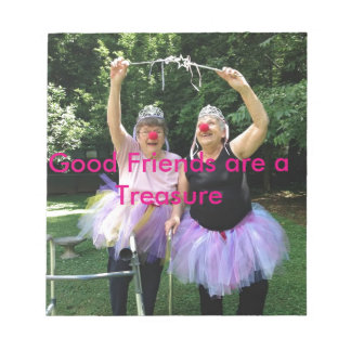 Friends + Tutus = Fun Times Notepad