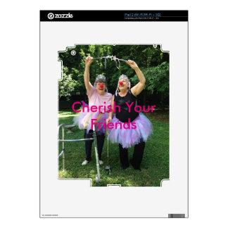 Friends + Tutus = Fun Times Skins For iPad 2