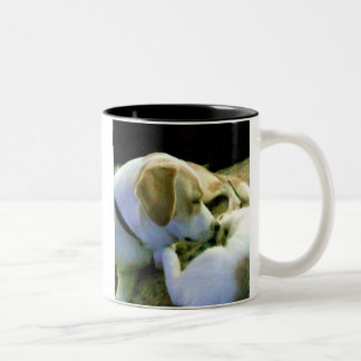 friends Two-Tone coffee mug