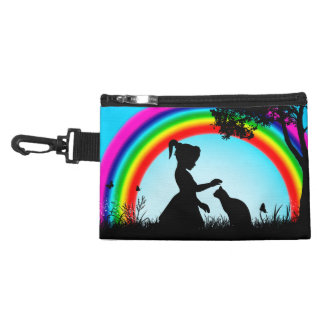 Friends Under The Rainbow Accessory Bag