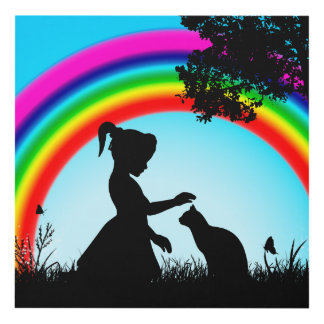 Friends Under The Rainbow Panel Wall Art