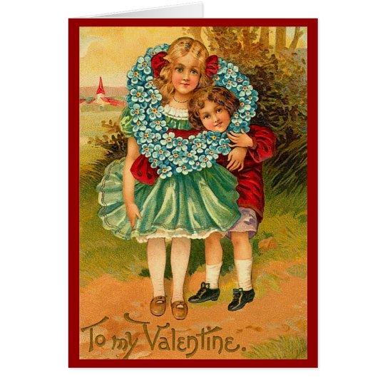 Friends Vintage Valentine Card