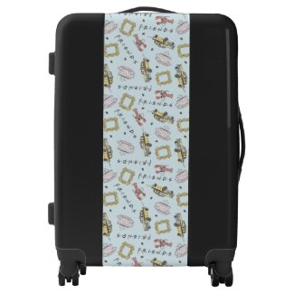 FRIENDS™ Watercolor Icons Pattern Luggage