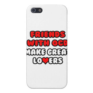 Friends with OCD Make Great Lovers iPhone 5 Cases