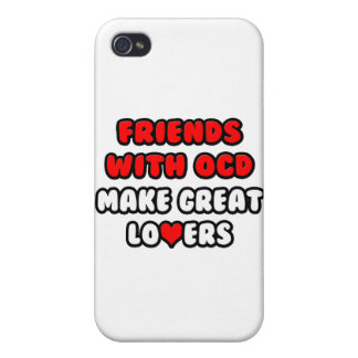 Friends with OCD Make Great Lovers iPhone 4/4S Covers