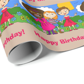 Friends Wrapping Paper