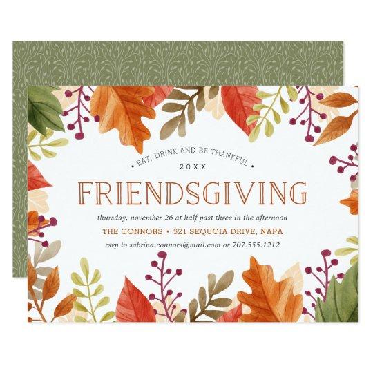 thanksgiving dinner invitation blank