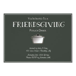 FRIENDSGIVING Invitation! - Customizable! Card