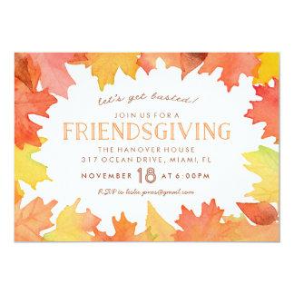 Friendsgiving Watercolor Invitation