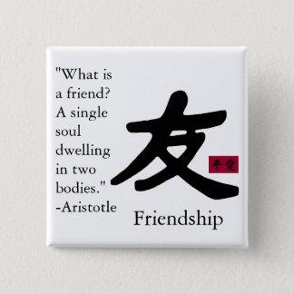 Friendship 1 pinback button