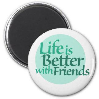 Friendship 2 Inch Round Magnet