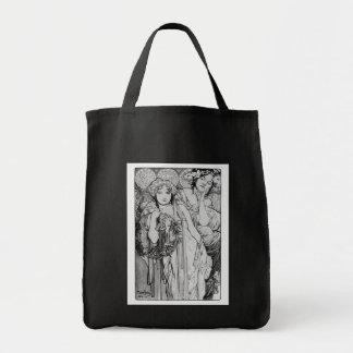 Friendship ~ Alphones Mucha  ~ 1904 Tote Bag