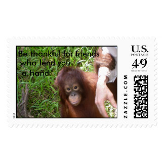 Friendship and Give Thanks Postage