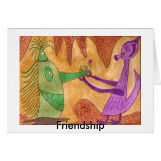 Friendship - Autism Greeting Card