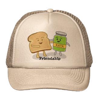 Friendship Bread and Kaya Hat