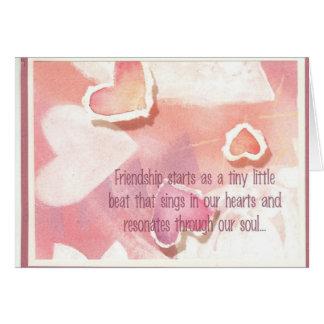 Friendship - By: Dark Heaven Rock 13 Card