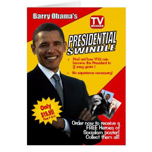 Friendship Card Featuring Barack Obama