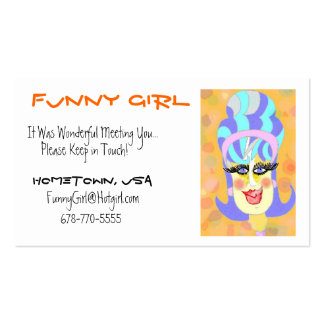 Friendship Cards -Fun for Everyone Business Card Template
