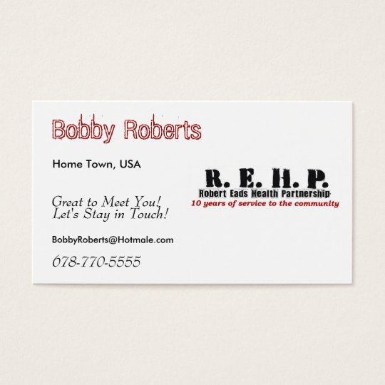 Friendship Cards Robert Eads Logo