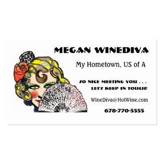 Friendship Cards -Soul of Spain Double-Sided Standard Business Cards (Pack Of 100)