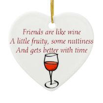 Friendship christmas ornament
